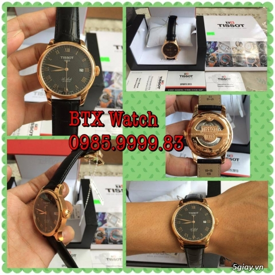 [btx watch] mắt kính, đồng hồ authentic 100% : rayban, movado, burberry, guuuu, tissot, m.kors... - 16