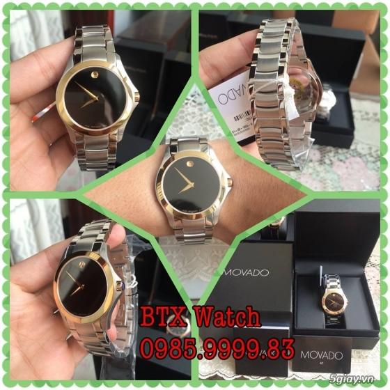 [btx watch] mắt kính, đồng hồ authentic 100% : rayban, movado, burberry, guuuu, tissot, m.kors... - 3