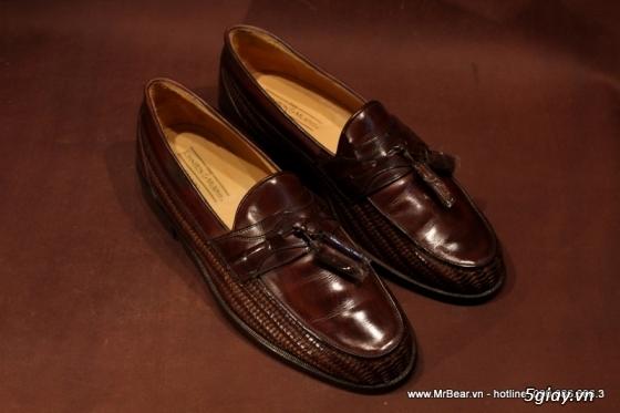 Giày loafer hàng hiệu chính hãng : bally , zara , cole haan , guuuu , prada , D&G ... - 19