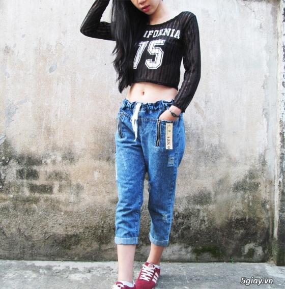 Quần baggy nữ đẹp, giá rẻ|quần jeans baggy|quần baggy kaki|quần baggy vải - 6