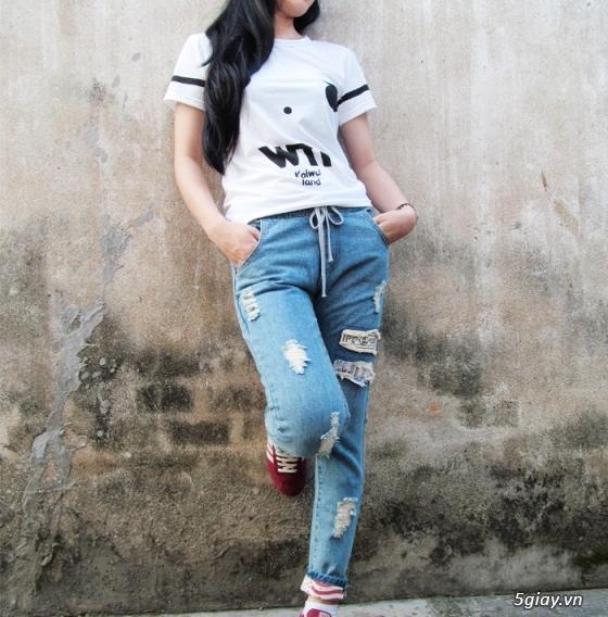 Quần baggy nữ đẹp, giá rẻ|quần jeans baggy|quần baggy kaki|quần baggy vải - 13