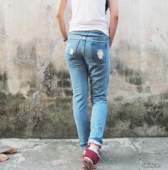 Quần baggy nữ đẹp, giá rẻ|quần jeans baggy|quần baggy kaki|quần baggy vải - 14