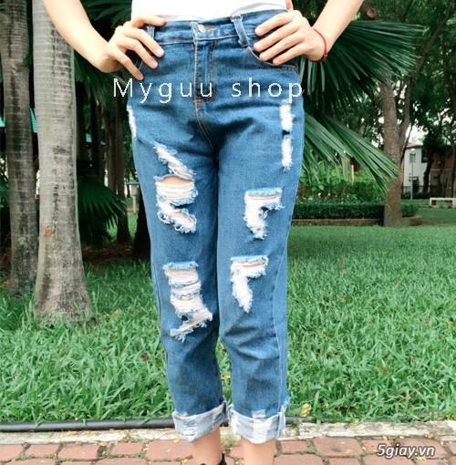 Quần baggy nữ đẹp, giá rẻ|quần jeans baggy|quần baggy kaki|quần baggy vải - 2