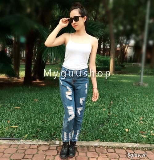 Quần baggy nữ đẹp, giá rẻ|quần jeans baggy|quần baggy kaki|quần baggy vải - 1