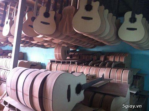 Đàn guitar gỗ hồng đào, còng cườm, điệp, sồi pháp giá rẻ gò vấp hcm - 10