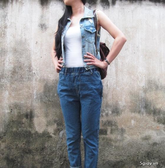 Quần baggy nữ đẹp, giá rẻ|quần jeans baggy|quần baggy kaki|quần baggy vải - 12