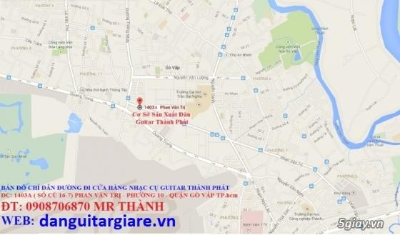 Đàn guitar gỗ hồng đào, còng cườm, điệp, sồi pháp giá rẻ gò vấp hcm - 15