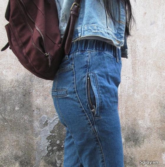 Quần baggy nữ đẹp, giá rẻ|quần jeans baggy|quần baggy kaki|quần baggy vải - 11