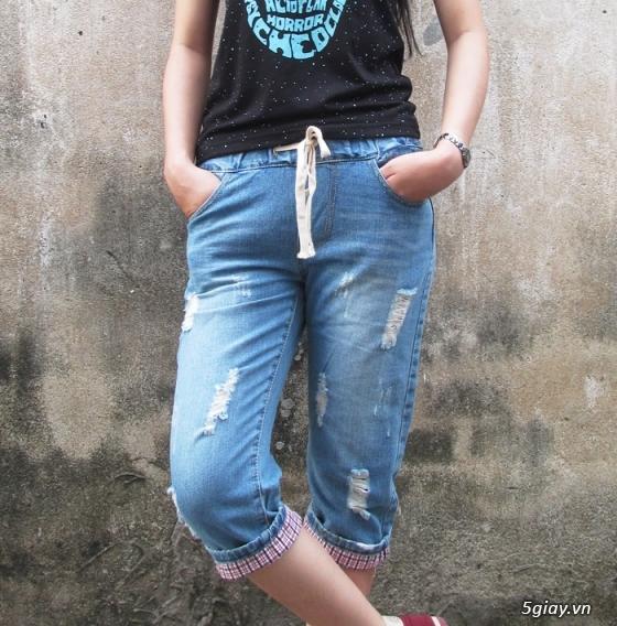 Quần baggy nữ đẹp, giá rẻ|quần jeans baggy|quần baggy kaki|quần baggy vải - 15