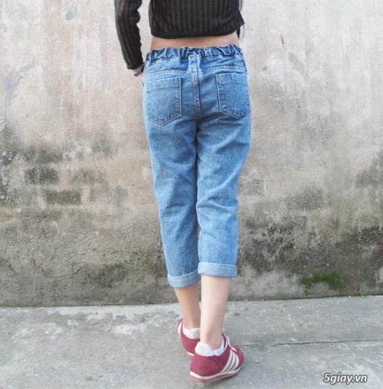 Quần baggy nữ đẹp, giá rẻ|quần jeans baggy|quần baggy kaki|quần baggy vải - 7