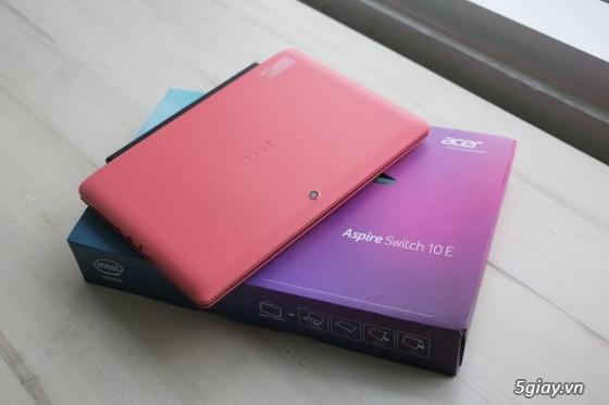 Laptop acer aspire switch 10 e - sw3 – năng động, trang nhã, đầy cá tính - 78633