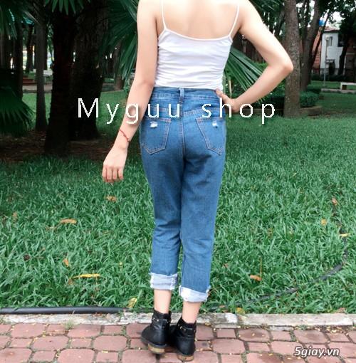 Quần baggy nữ đẹp, giá rẻ|quần jeans baggy|quần baggy kaki|quần baggy vải - 5