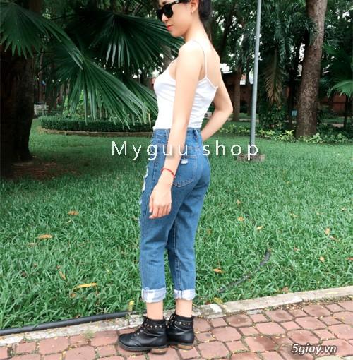 Quần baggy nữ đẹp, giá rẻ|quần jeans baggy|quần baggy kaki|quần baggy vải - 4