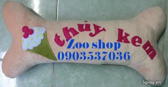 Thú nhồi bông zoo shop rẻ nhất cả nước-tặng người yêu,tặng em bé,người già đều ok hết - 5