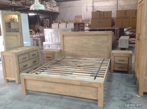 Bàn ghế giường tủ gỗ sồi Mỹ và Nga giá tốt nhất Sài Gòn - 30