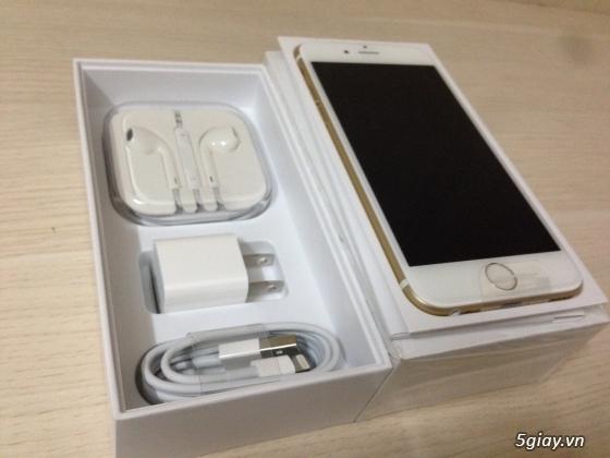 IPHONE 6 PLUS GOLD 16G hàng Bạch Long mới Active 2ngay nguyên Seal máy & phụ kiện.. - 2