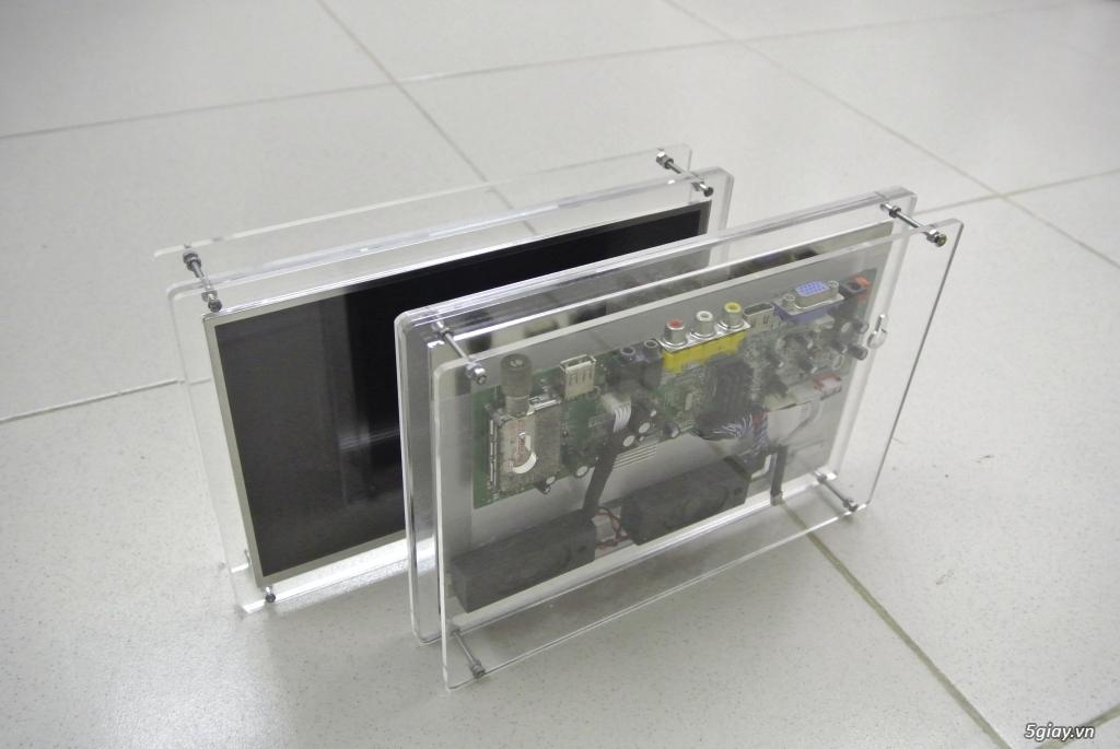 Chuyển màn hình laptop, màn hình LCD thành TIVI, độ chế LCD theo yêu cầu - 2