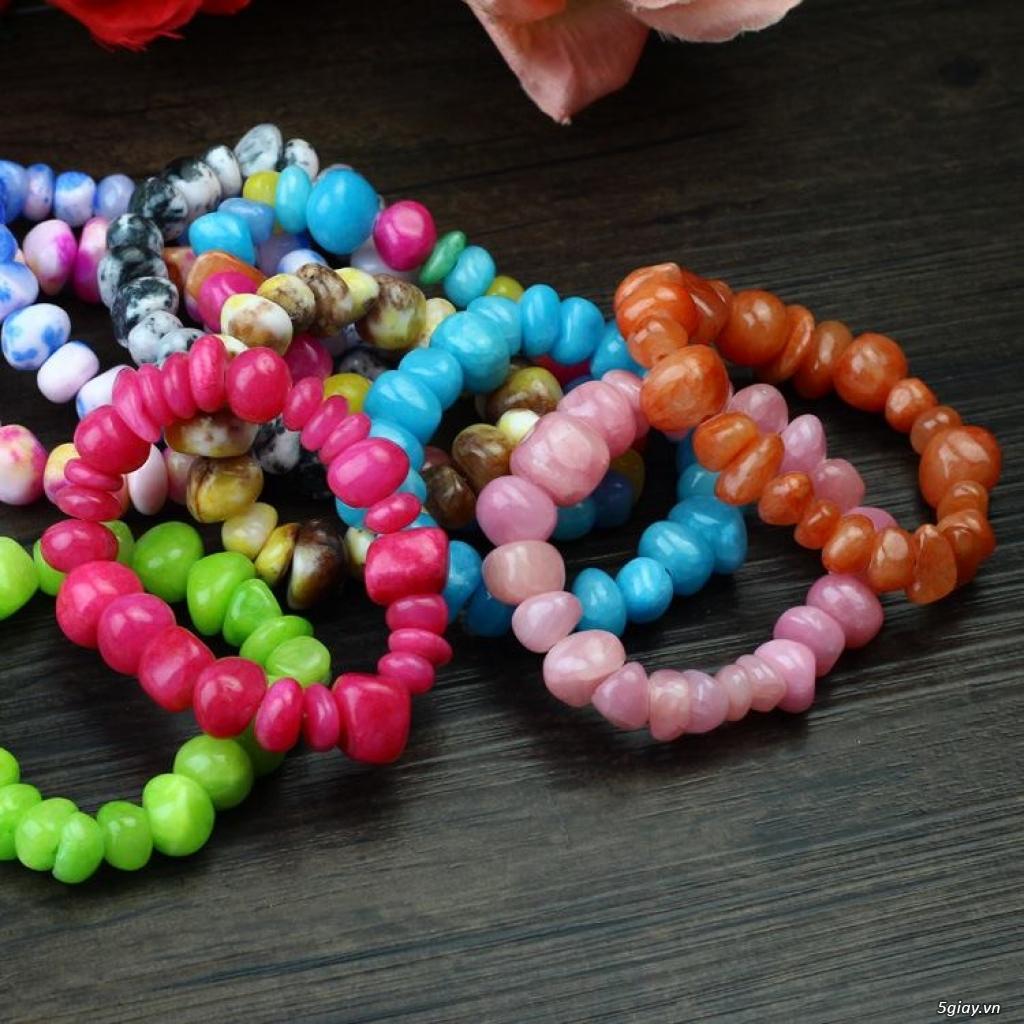 Vòng đeo tay ( hạt, đá, gỗ, đất sét...) - 2