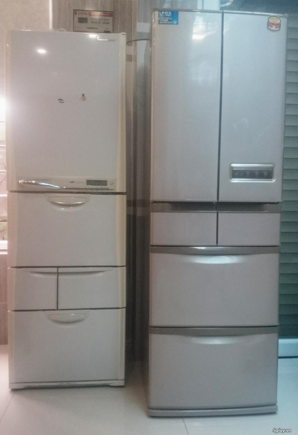 Bán 2 Tủ lạnh nội địa nhật 401L giá rẻ