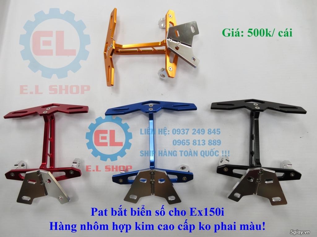 E.L SHOP Đèn led siêu sáng xe mô tô: XHP50, XHP70 i7, Cree, Philips Lumiled,Gương cầu LED xe gắn máy - 40