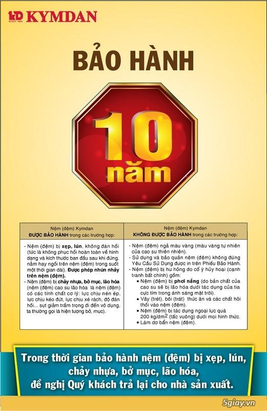 Nệm Kymdan giá cực tốt free ship TPHCM, Hà Nội, Bến Tre, Đà Nẵng, Cần Thơ, Nha Trang, An Giang. - 19