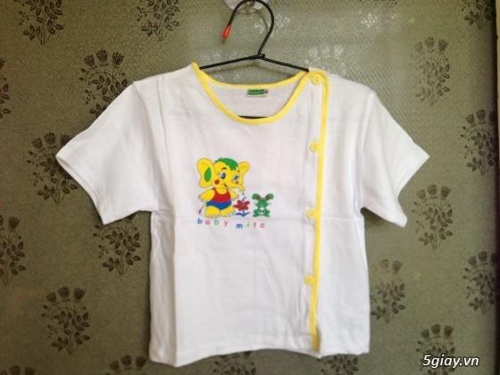 Áo quần cotton trẻ sơ sinh 12k, nón khăn bao tay chân, vớ giá rẻ new 100% hàng mới update