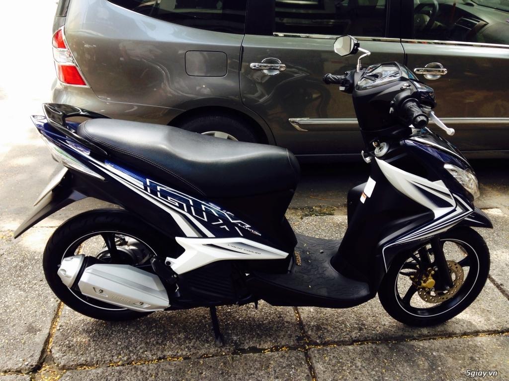 Yamaha luvias fi mau xanh trang 2013 - 7