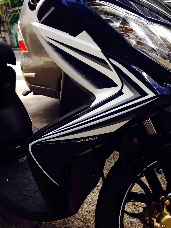 Yamaha luvias fi mau xanh trang 2013 - 4