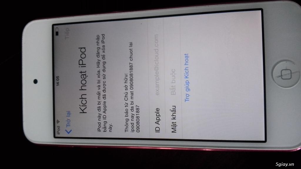 Ipod Touch Gen 5 32Gb Icloud 1tr + Gen 3 64 Gb 900K