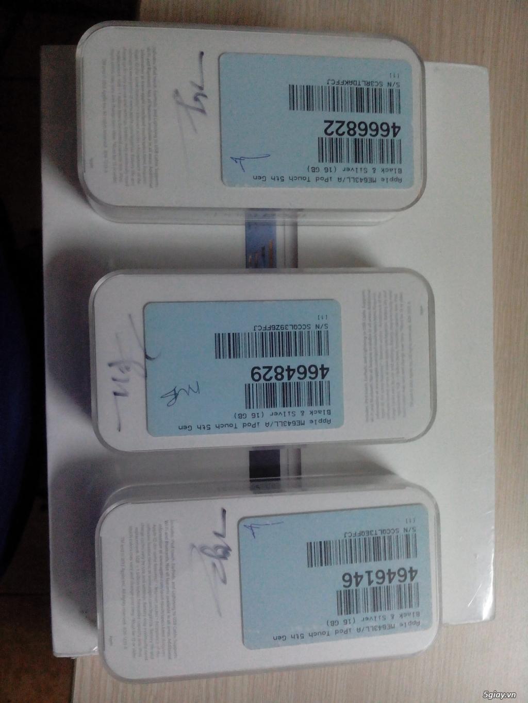 ipod Touch gen 5 16GB silver new 100% nguyên seal chưa Active BH 12tháng Apple toàn cầu nha... - 11
