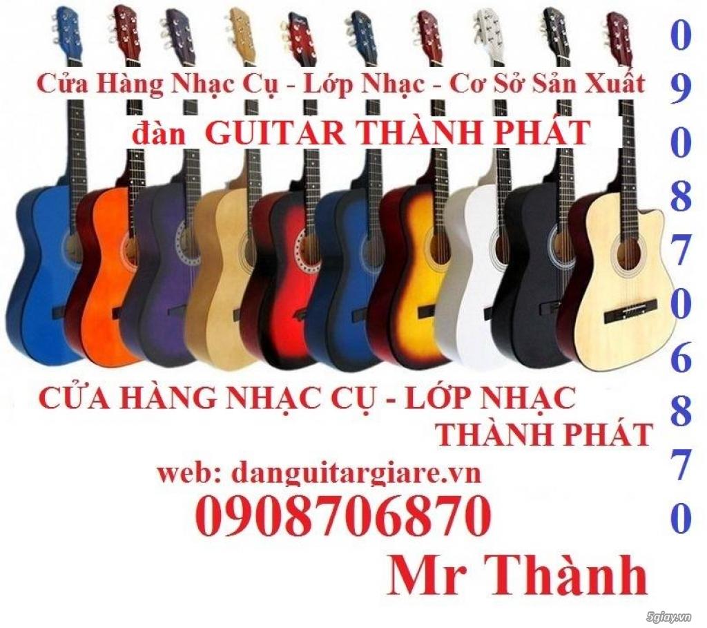 Đàn guitar gỗ hồng đào, còng cườm, điệp, sồi pháp giá rẻ gò vấp hcm