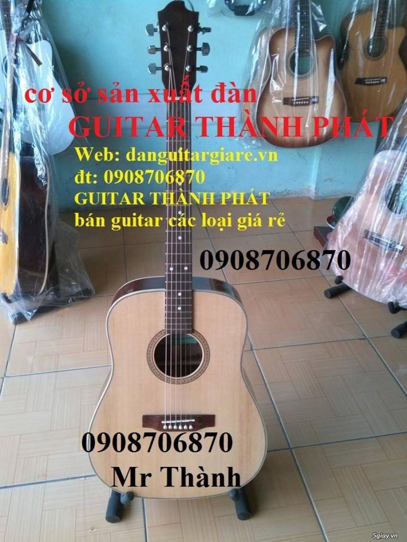 Đàn guitar gỗ hồng đào, còng cườm, điệp, sồi pháp giá rẻ gò vấp hcm - 4
