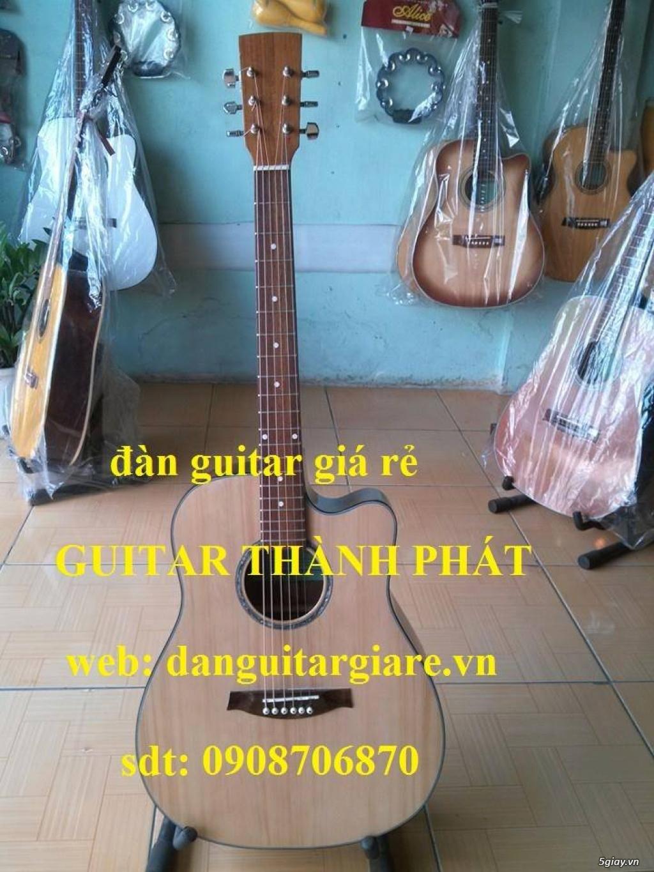 Đàn guitar gỗ hồng đào, còng cườm, điệp, sồi pháp giá rẻ gò vấp hcm - 5