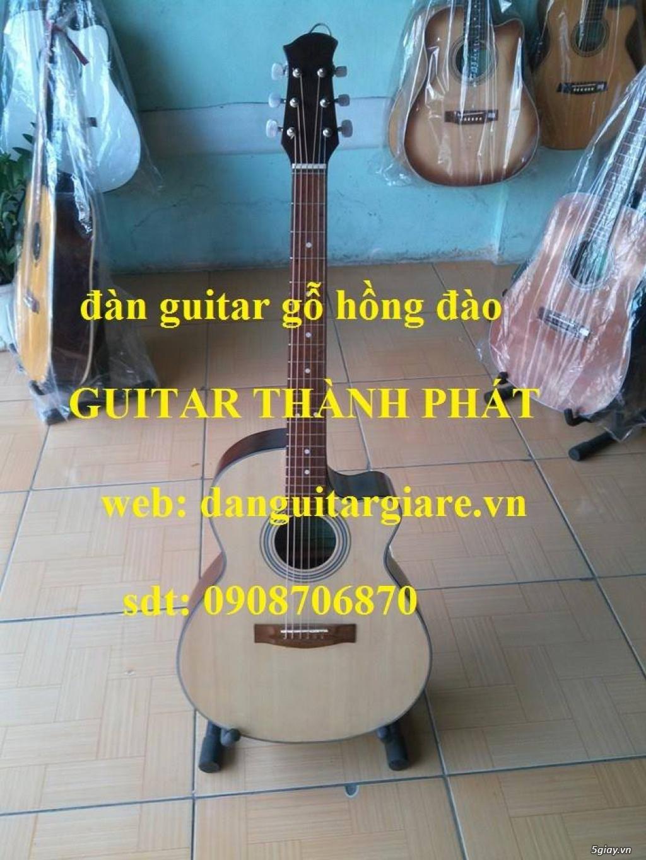 Đàn guitar gỗ hồng đào, còng cườm, điệp, sồi pháp giá rẻ gò vấp hcm - 3