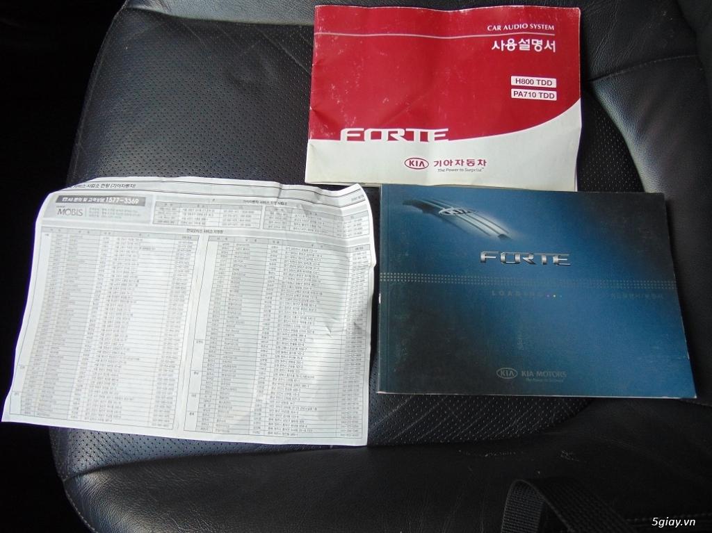 Cần bán chiếc xe Kia Forte Sli 2009 - 10