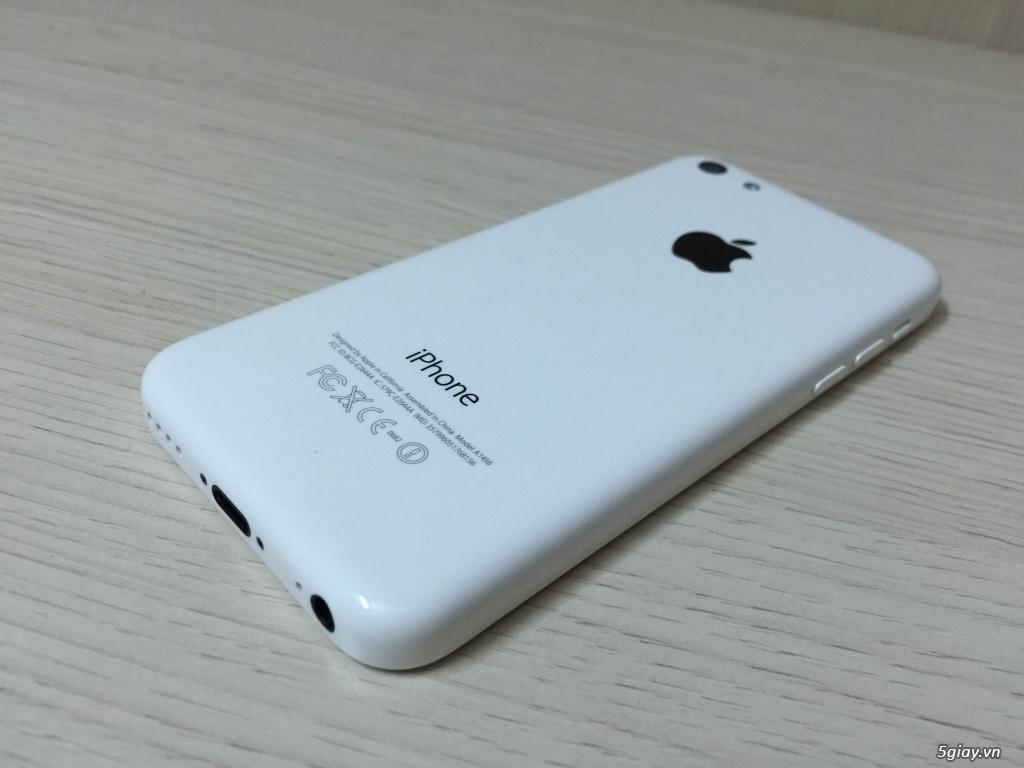 IPHONE 5c 32G White Lock Nhật NEW 99%  có Cydia xài như Quốc tế .. - 3