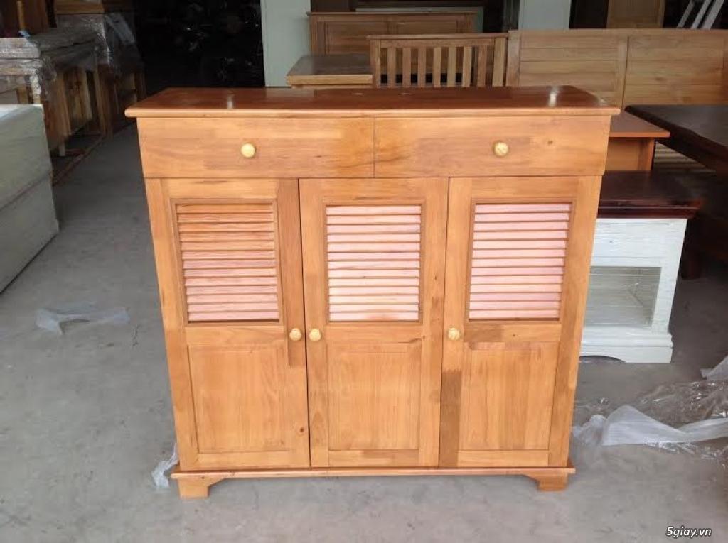 Nội Thất Tây Hưng Thịnh: Thanh lý giường tủ bàn ghế  bằng gỗ Sồi xuất khẩu Hàn Quốc - 40