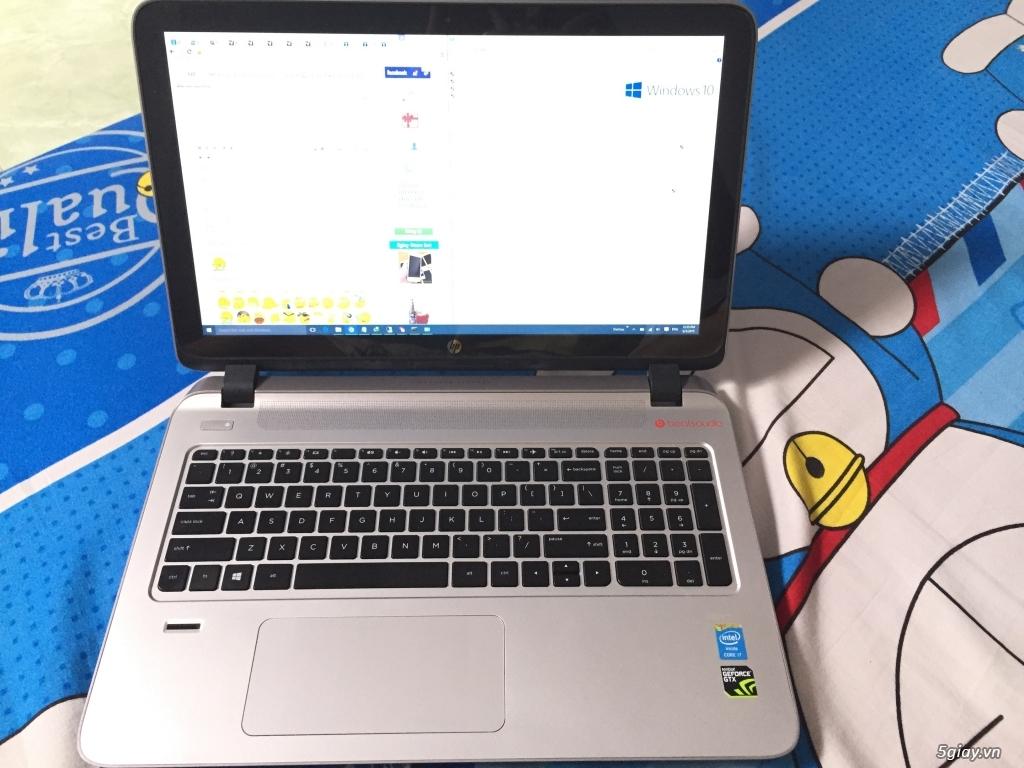 HP Envy 15 TouchScreen i7 Card Nvidia GTX850 8Gb Ram cực mới 99% - 4