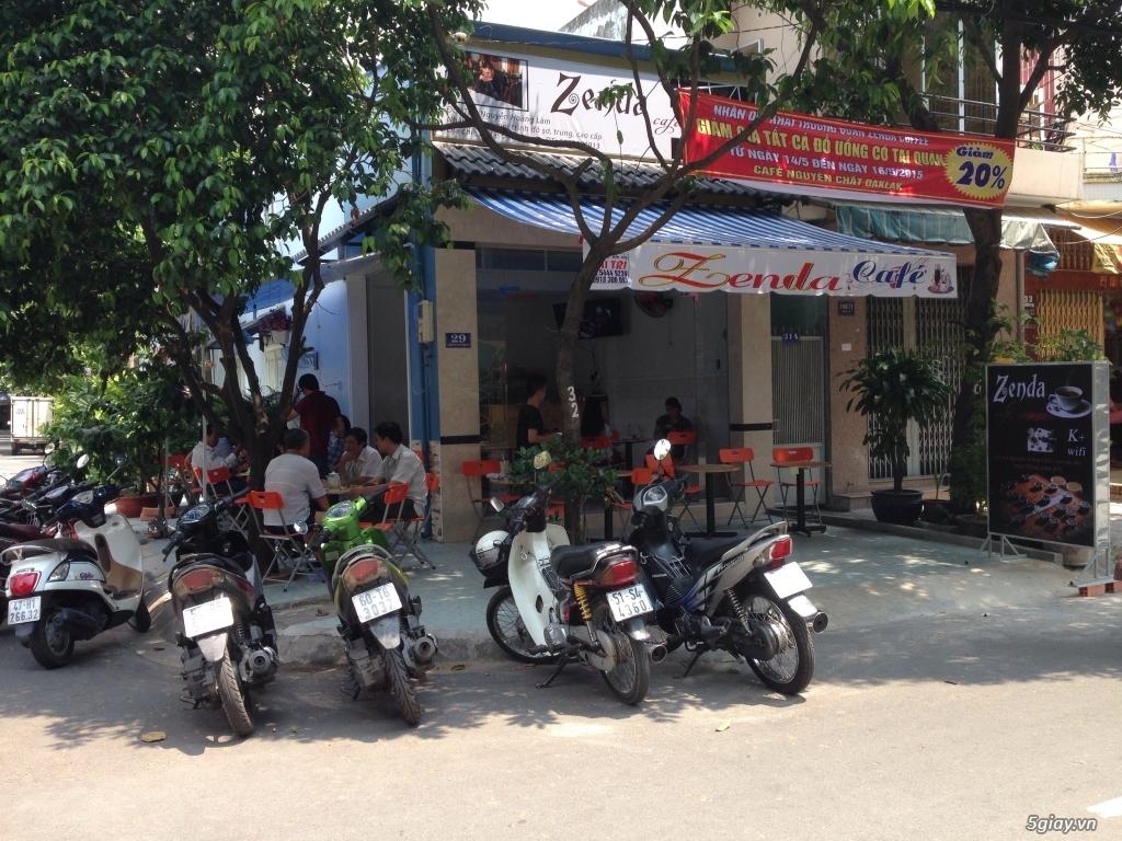 Sang quán cafe 2 mặt tiền
