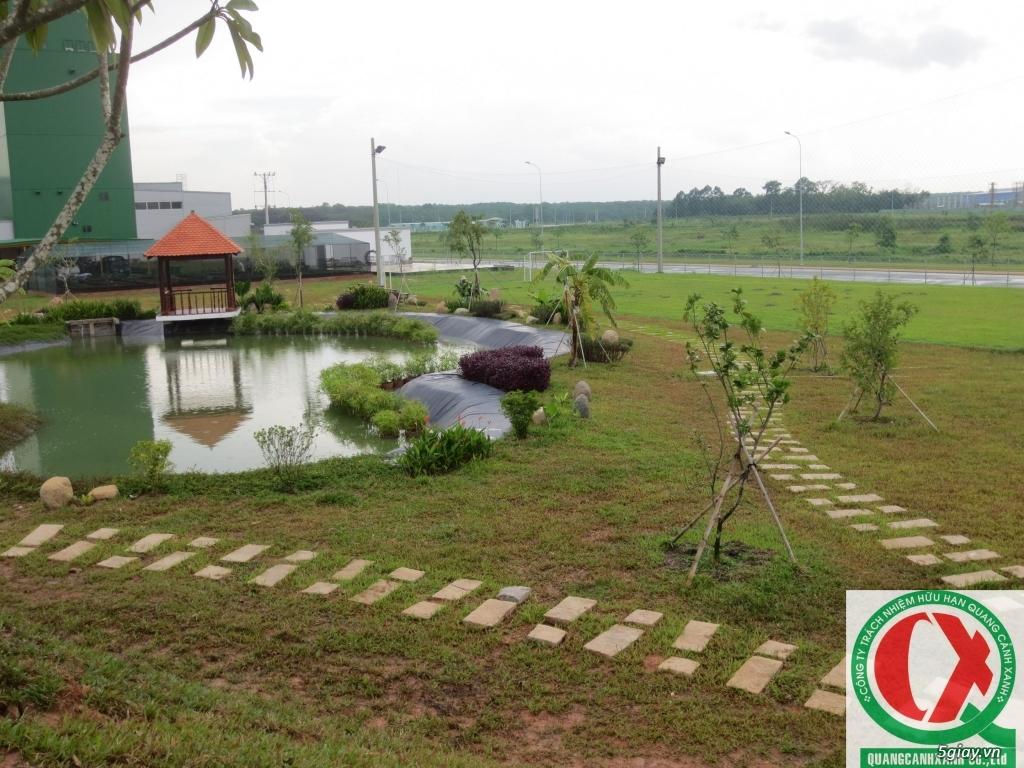 Dịch vụ làm vườn, thi công thiết kế duy trình cảnh quan sân vườn 0
