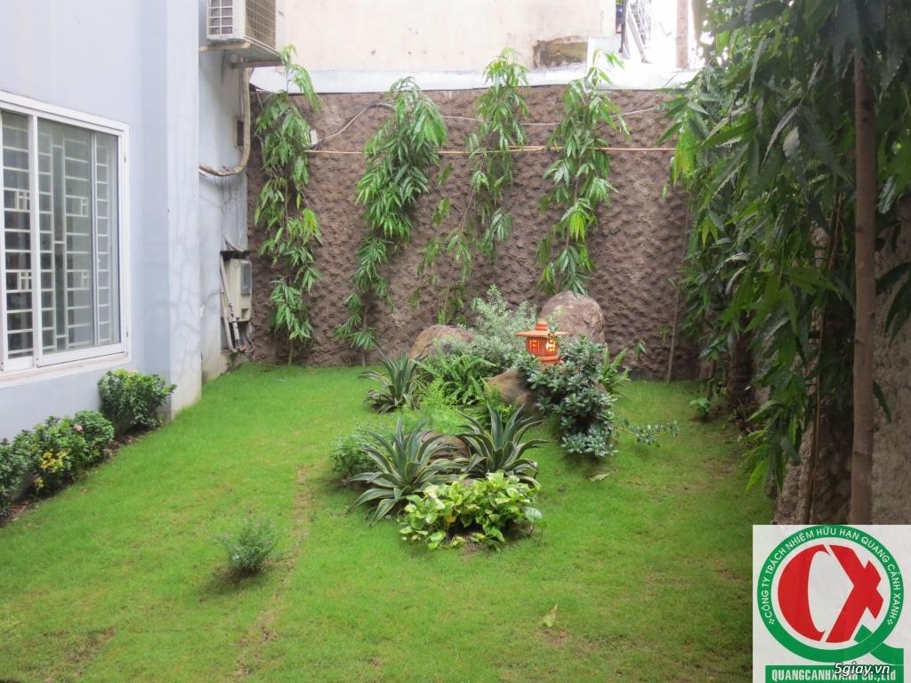 Dịch vụ làm vườn, thi công thiết kế duy trình cảnh quan sân vườn 9