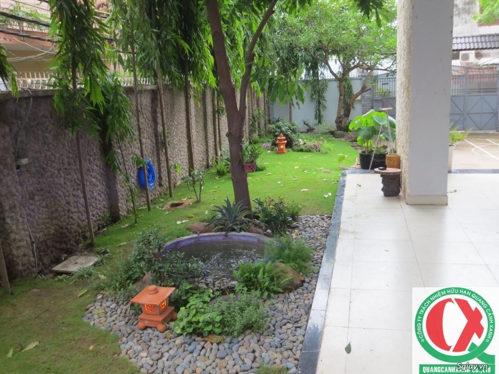Dịch vụ làm vườn, thi công thiết kế duy trình cảnh quan sân vườn 10