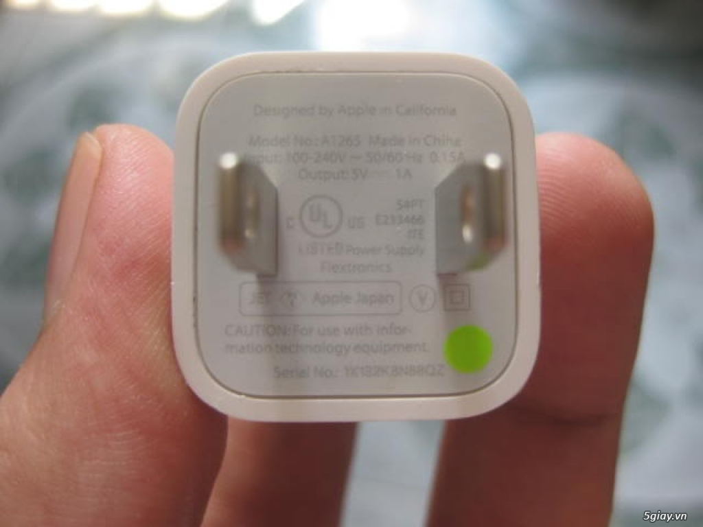Chuyên bán sạc cáp, tai nghe zin hãng Apple của các loại ipad , iphone - 1