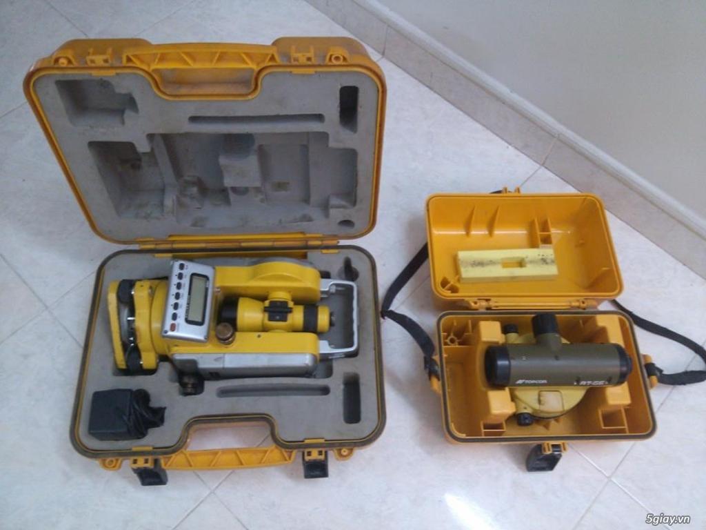 Máy đo đạc địa trắc : máy kinh vĩ điện tử và máy thủy bình cho anh em xây dựng - 2