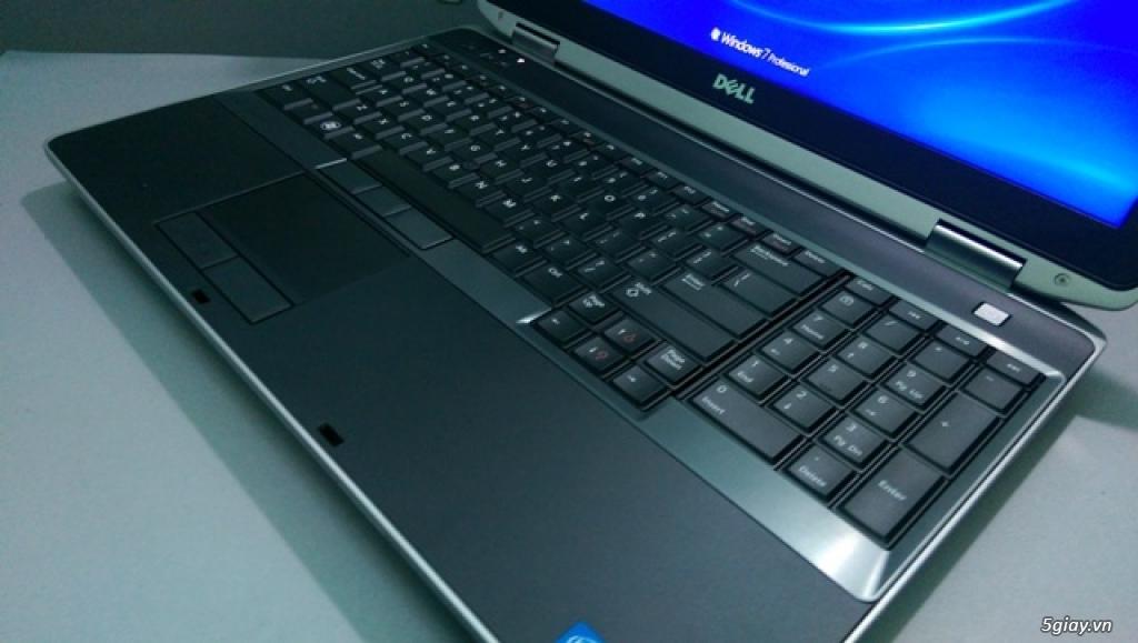 Dell Latitude E6530 core i7 3740QM... mới 99%... giá bèo - 1