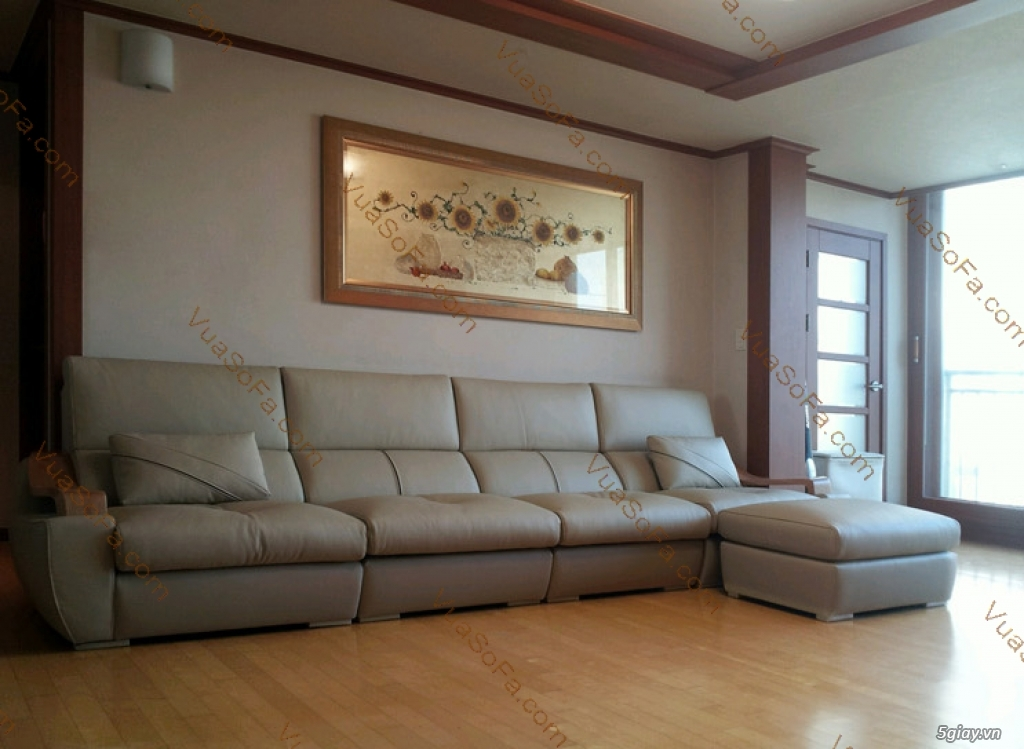 SOFA Siêu Cao Cấp: Khung sườn gỗ đỏ, Nệm ngồi Kymdan mới 100%, Da bò ITALIA. Ký hợp đồng công chứng - 41
