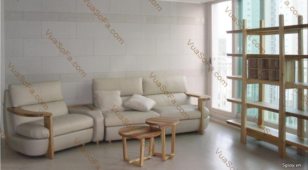 SOFA Siêu Cao Cấp: Khung sườn gỗ đỏ, Nệm ngồi Kymdan mới 100%, Da bò ITALIA. Ký hợp đồng công chứng - 39