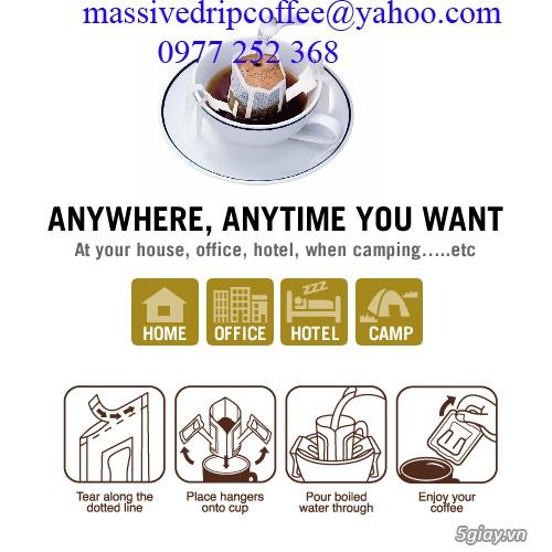 Cà Phê Túi Lọc Di Động - Drip coffee Filter -Drip Coffee - 19
