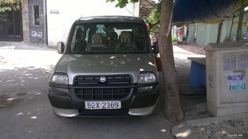 FIAT DOBLO 2003 7 chỗ - 6
