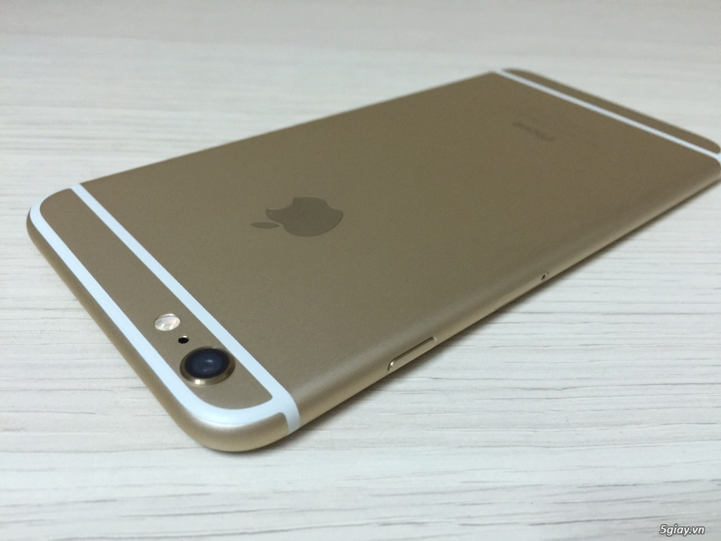 IPhone 6 PLUS 16G Gold Quốc Tế máy khá đẹp.. - 2